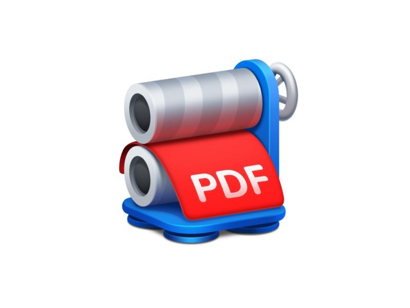 PDF Squeezer icon macosx app icon macos icon