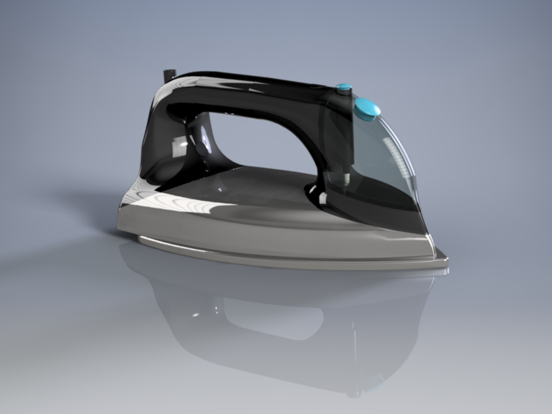 Steam Iron design 3d project product