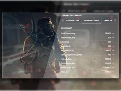 CS-GO Game Settings