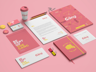 The Gang - Visual Identity
