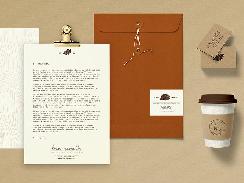 Bruna Carvalho - Visual Identity graphic design personal branding personal brand