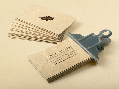Bruna Carvalho - Business Card