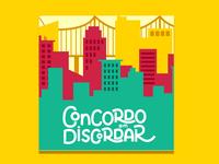 Concordo em Discordar Podcast   Visual Identity