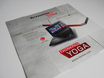 Lenovo Direct Mailer interloop mailer reveal