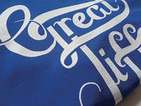 Personal Project: 'Great tiffs' T-shirt