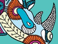 Rhino graphic illustration