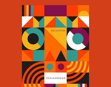 Geometric Poster idea!
