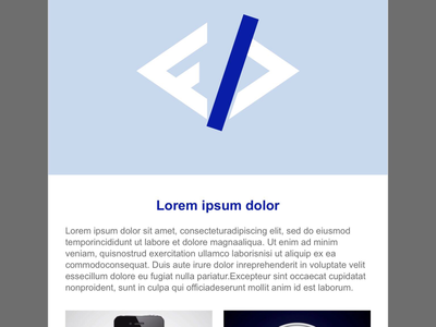 Sample HTML Email