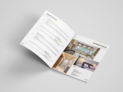 Broshure print design a4 broshure graphic design