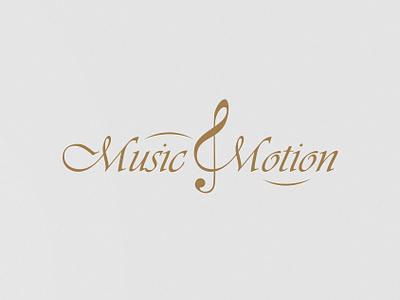 Music Motion logo vector logo design identity branding branding graphic design adobe illustrator design brand logo