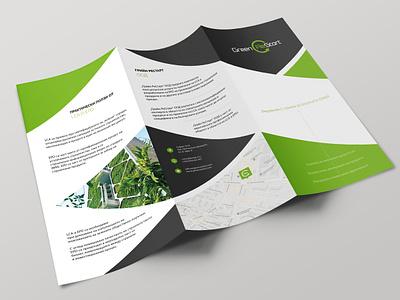 Green REstart - broshure corporate brochure green print design graphic design catalog design catalogue catalog broshure