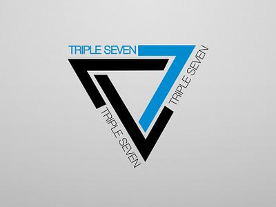 Triple Seven gaming logo logo design adobe illustrator graphic design design logo vector