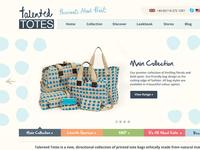 Talented Totes website design & build