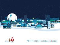 Sheffield Christmas Wallpaper