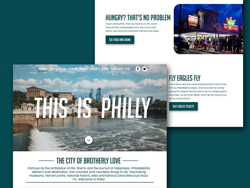 Visit Philadelphia by Liam Post | Dribbble | Dribbble