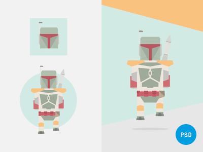 Free 8-Bit Remix Character «Buba Jet» graphic design character free flat design flat free download freebies