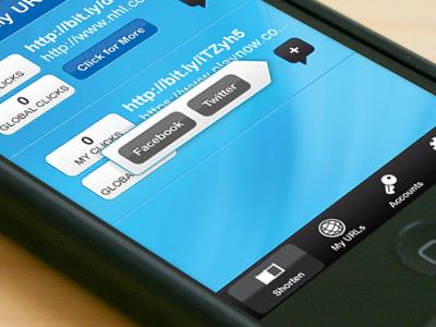 iPhone app iphone ui