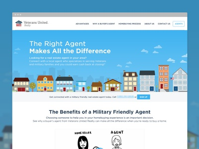 VUR Website website homepage realty agent site page houses