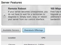 Web - Overstock Servers