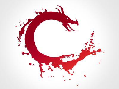 Logo for a motion media company