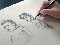 Sketch Chupa