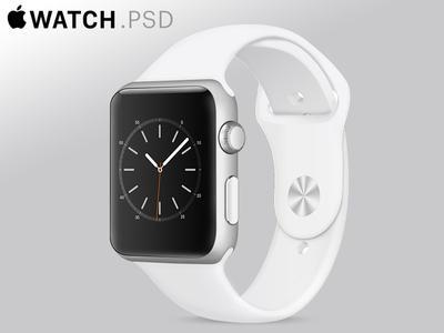Apple Watch Mockup[PSD]