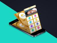 Spa App Mock Up parlour beauty illustrator psd app mobile spa design ux ui