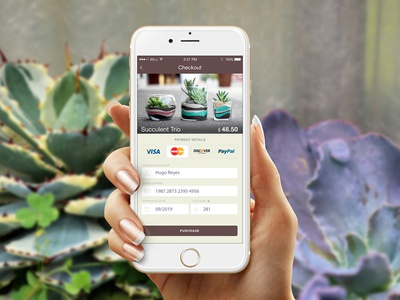DailyUI #002 - Credit Card app payment mobile form credit card dailyui