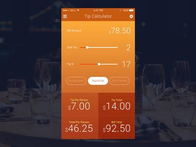 DailyUI #004 - Calculator ios calculator app mobile dailyui