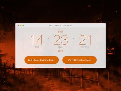 DailyUI #014 - Countdown Timer countdown timer dailyui
