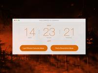 DailyUI #014 - Countdown Timer