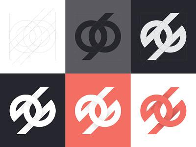 Monogram personal branding brand identity brand identity branding monogram logo