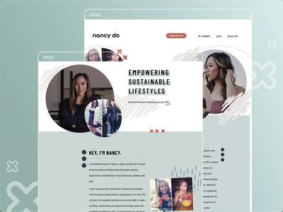 Website Design + Dev for Personal Trainer