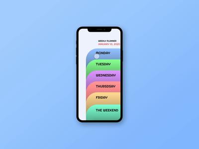 Weekly Task App