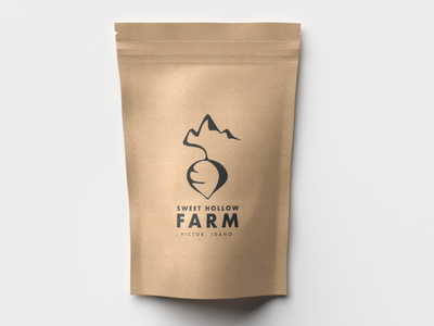 Sweet Hollow Packaging beetroot radish mountain farm packaging idaho