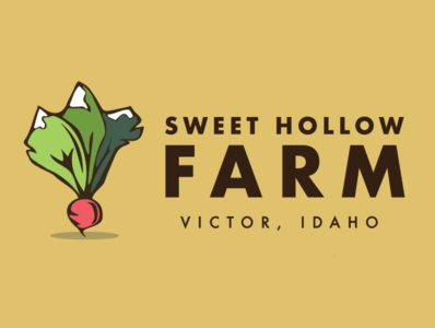 Sweet Hollow 2 farm logo beet radish idaho farm