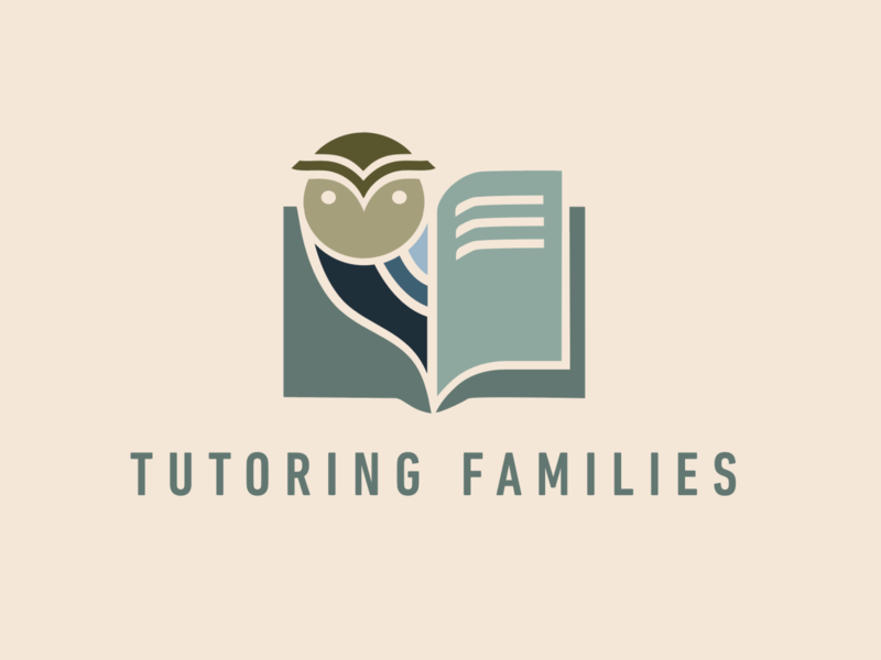 Tutoring Fams 1 logo reading owl tutor
