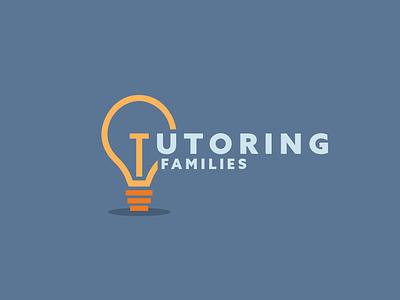 Tutoring Fams 2 logo tutoring lightbulb