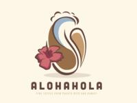 AlohaHola Coffee hibiscus coffee surf bean