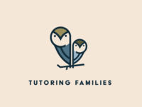 Tutoring owls owl logo tutor owl