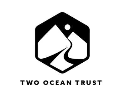 Two Ocean Trust mountain logo mountain wyoming