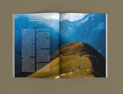 Mountain Flyer Mag magazine bike editorial design