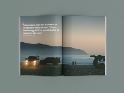 TBAR 2 editorial design