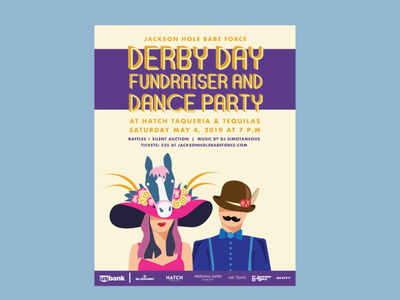 Derby Day poster design poster