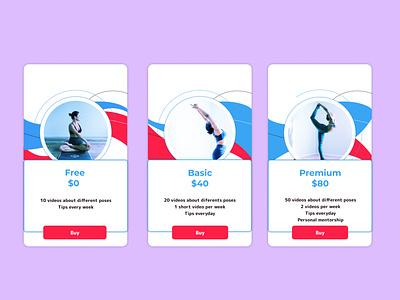 Daily UI 030 - Pricing app uxui uidesign design ui dailyui