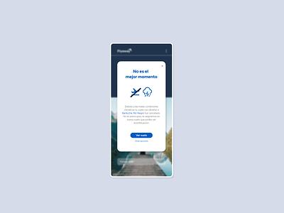 Starting UX writing challenge - 01 Flight canceled words design app appdesign uxwriting uxui uidesign ui