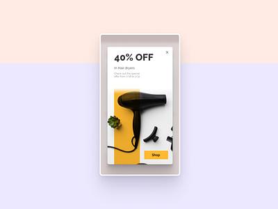 Daily UI 036 - Special Offer ux digitalart app uxdesign design appdesign uxui dailyui uidesign ui
