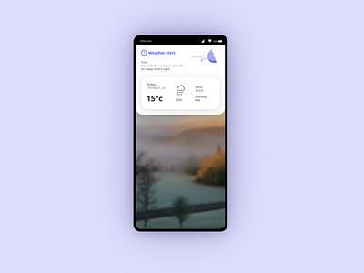 Daily UI 037 - Weather ux digitalart appdesign uxdesign app design uxui dailyui ui uidesign