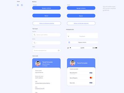 UI Kit - Fintech App diseñoux diseñoui design uxdesign app ui uxui uidesign
