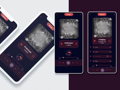 Daily UI 09 - Music player